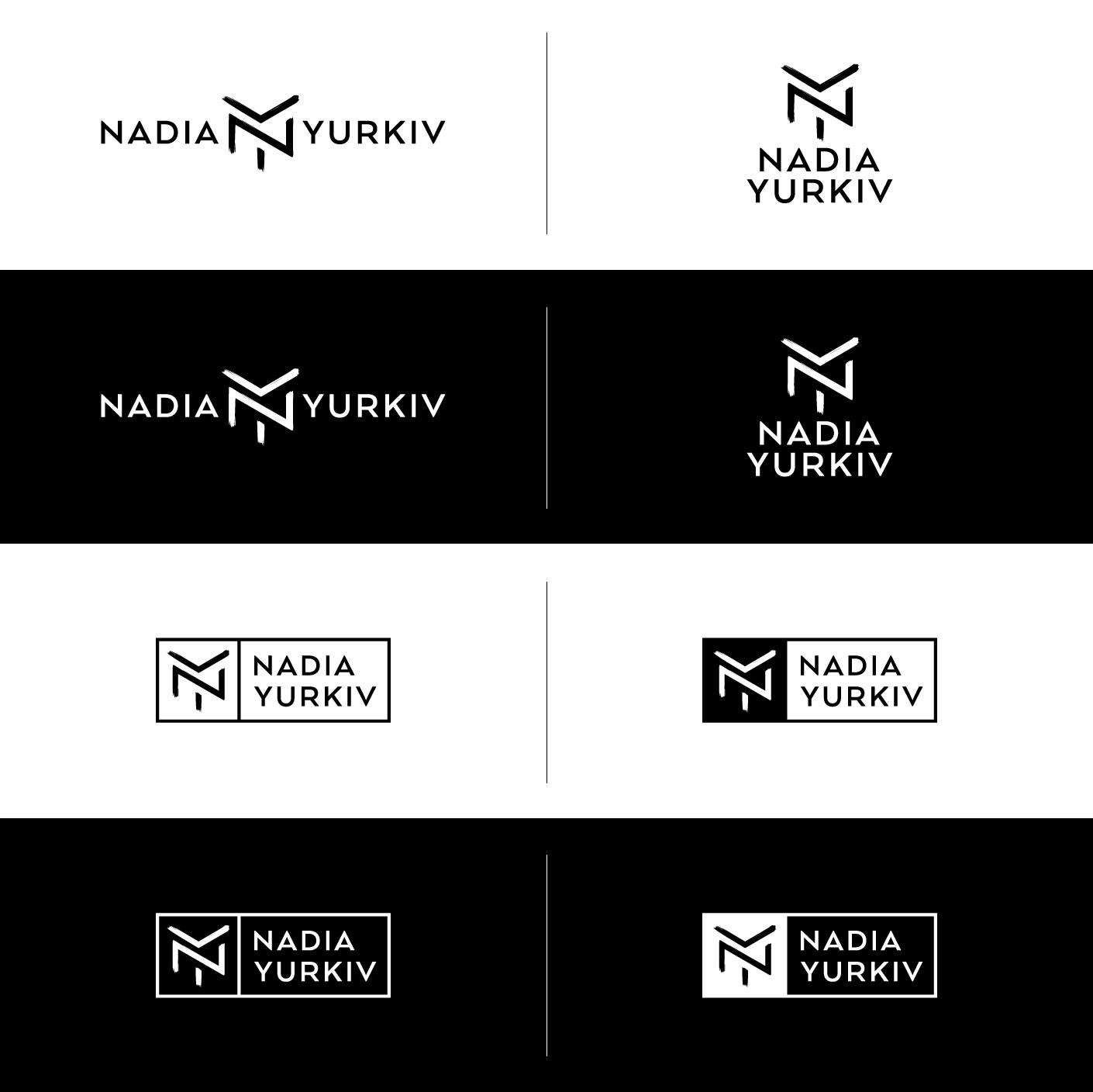 Nadia-Yurkiv-logo-variations