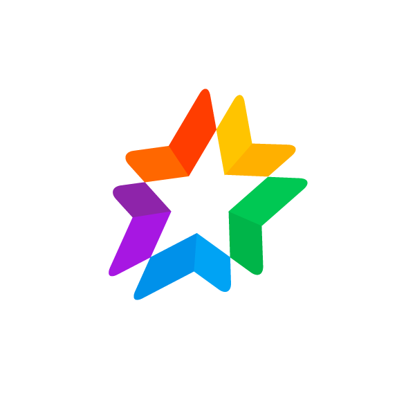 dynamic star logo
