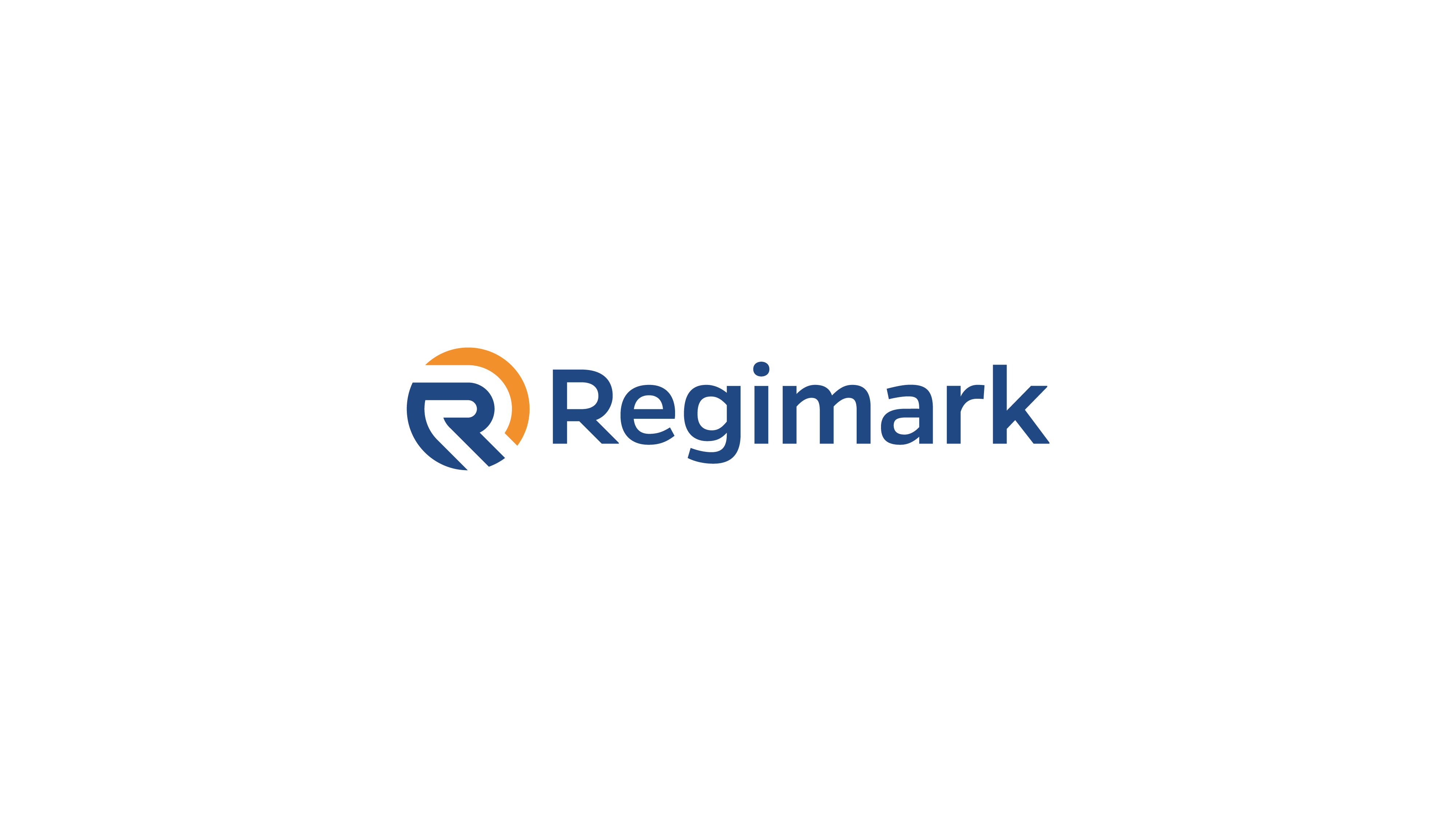 R logo in circle