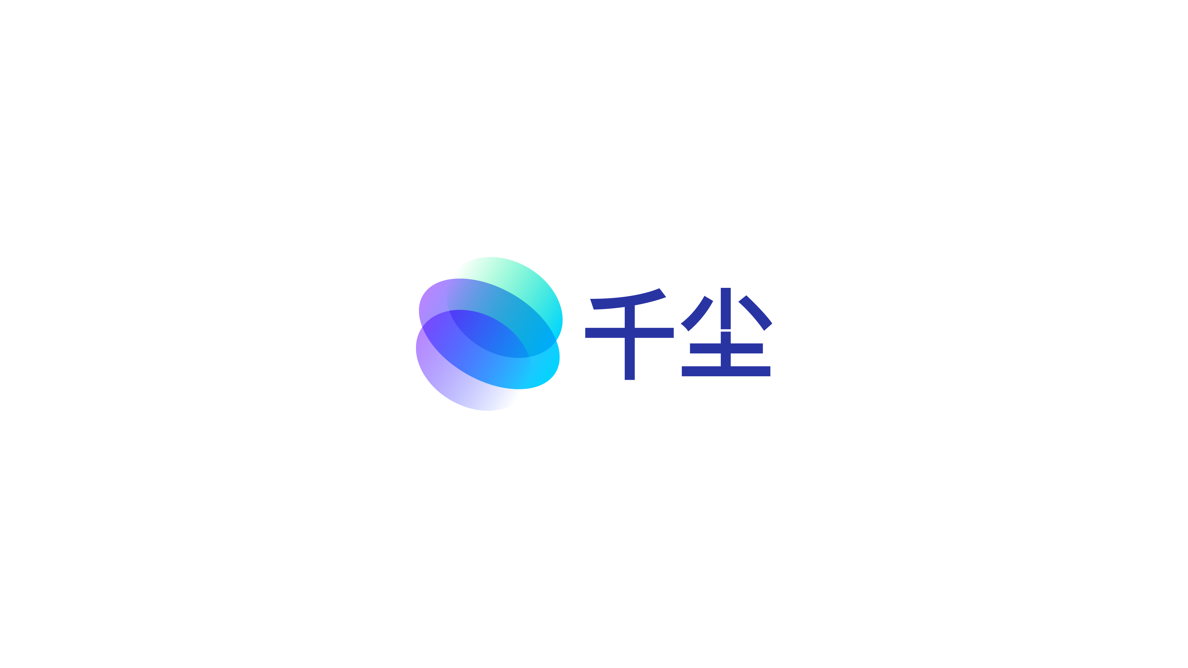 abstract planet gradient logo for crypto project