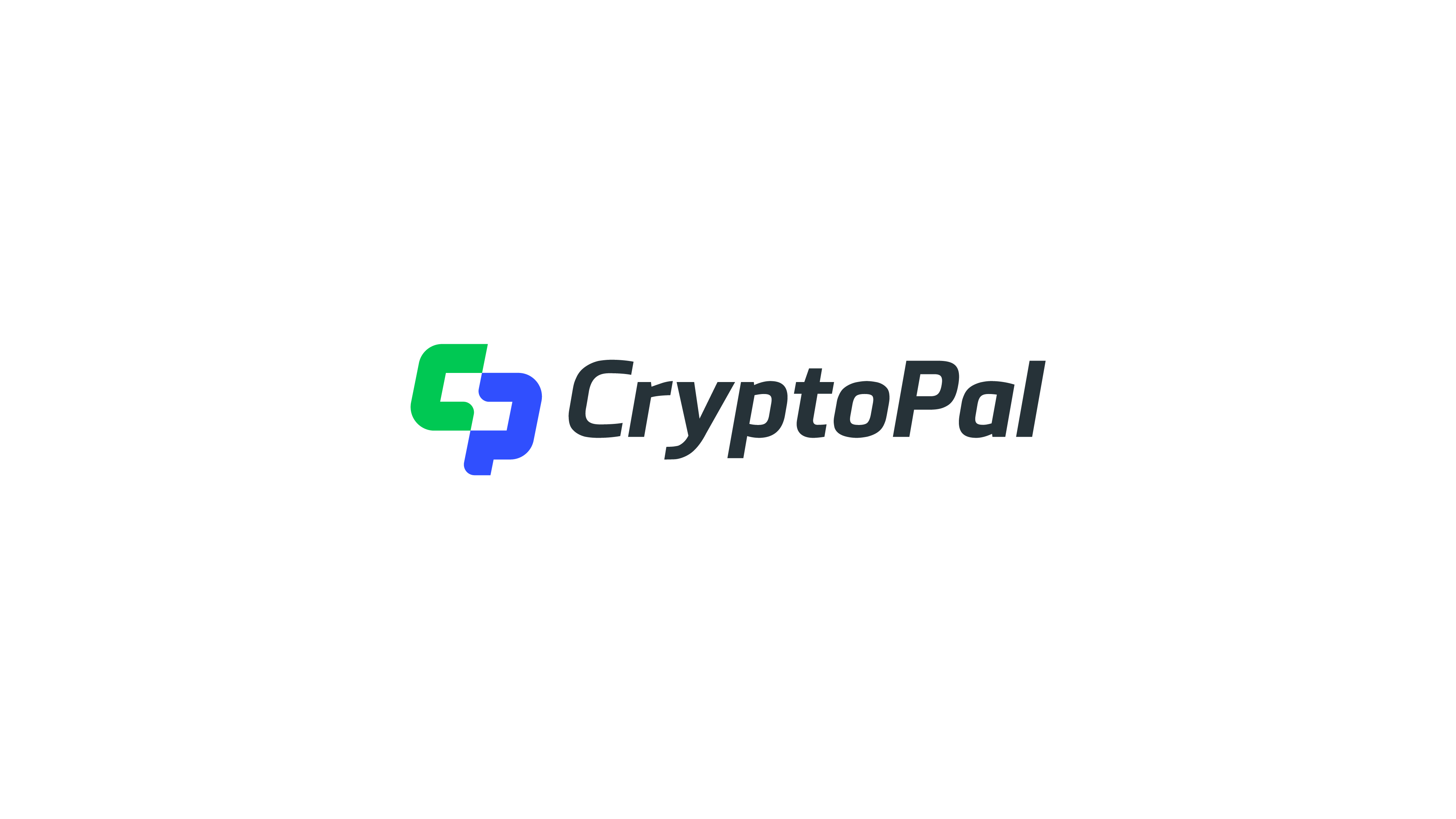 creative initial CP logo for crypto wallet project