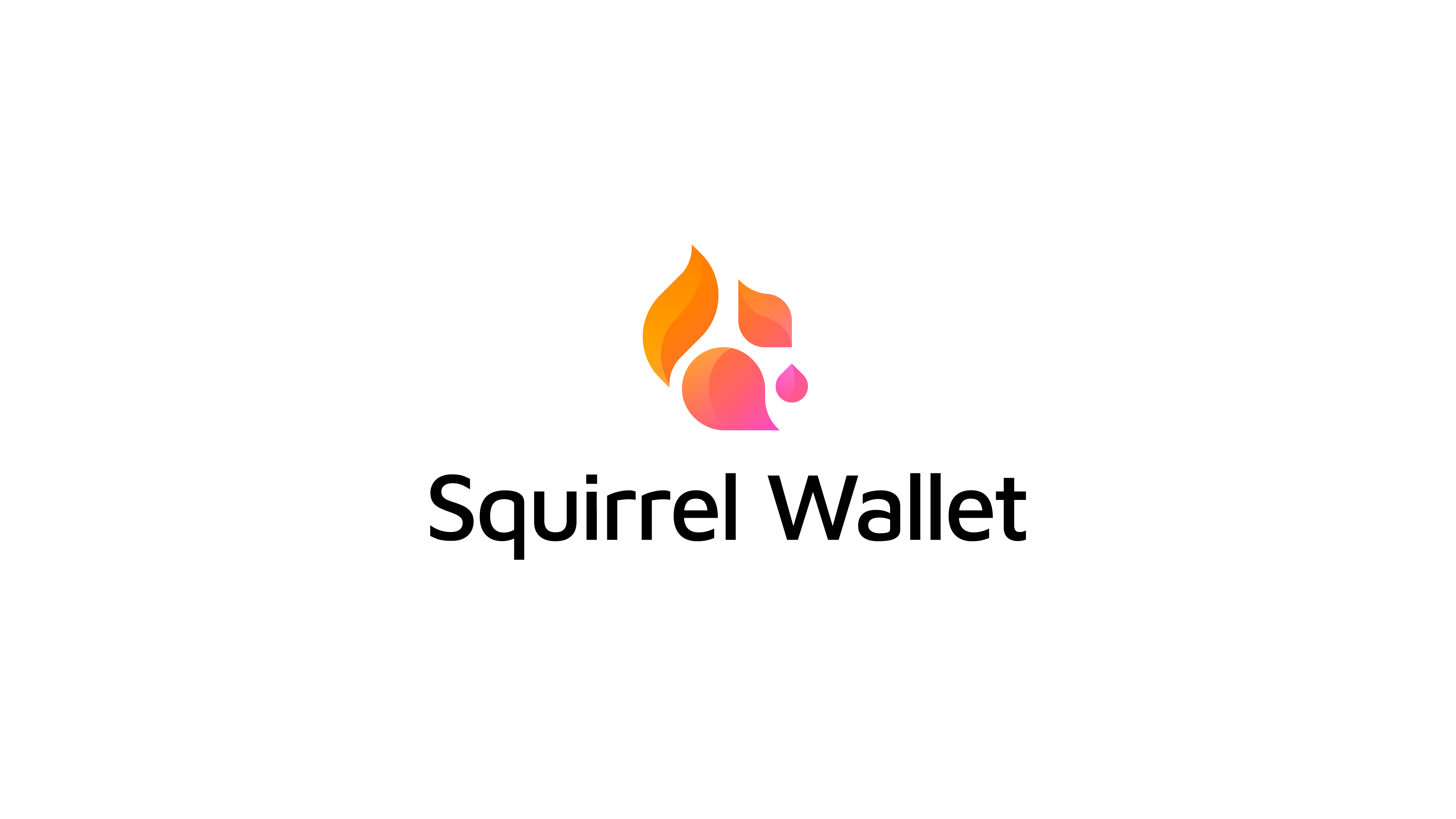 cute squirrel logo for crypto wallet project