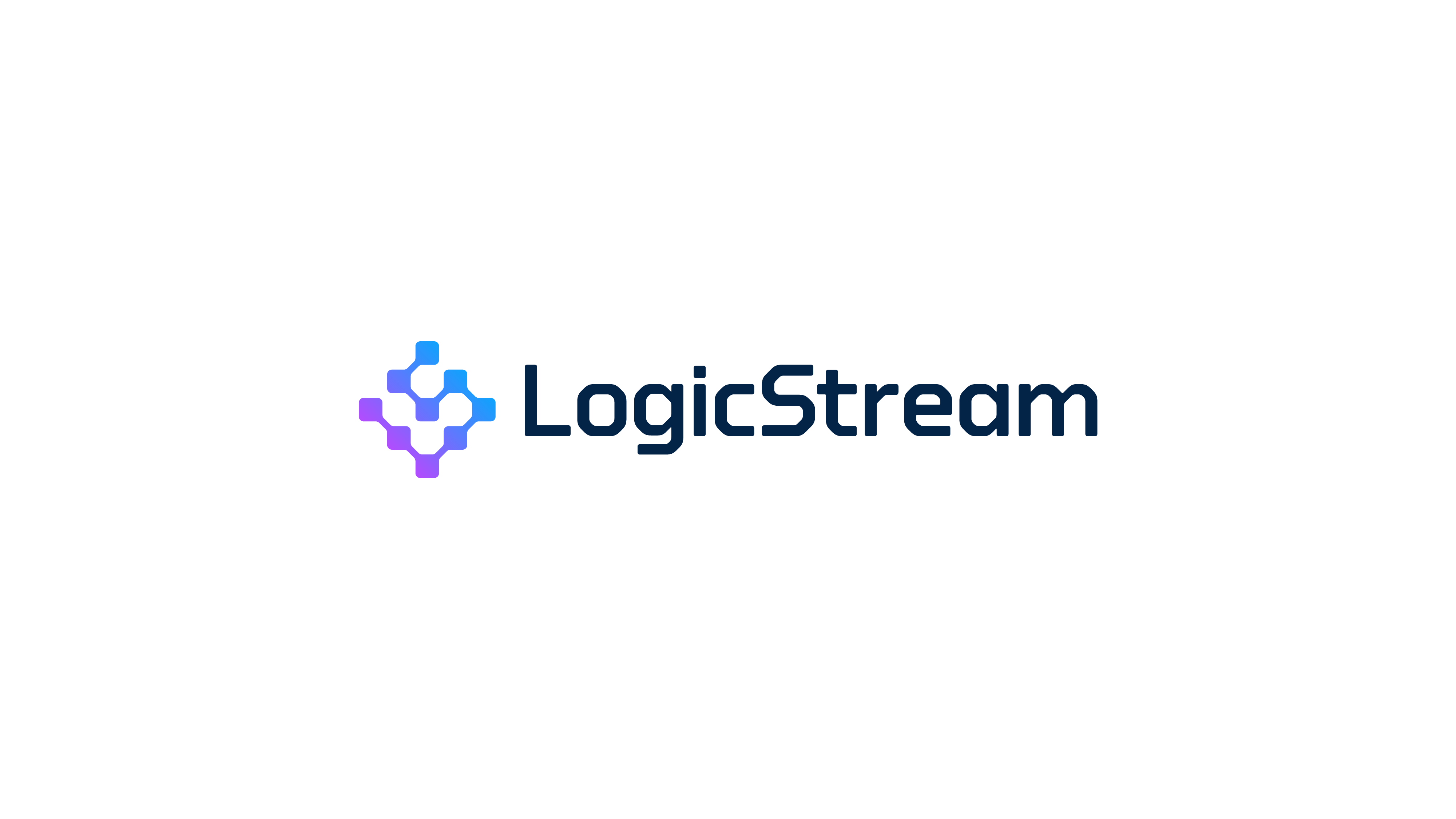 LS logo built by connecting dots